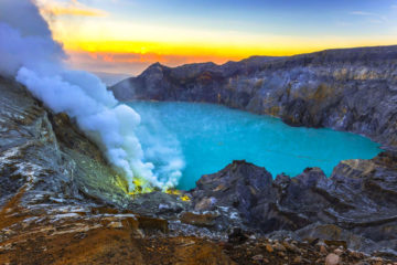 MT RAUNG & IJEN CRATER EXPEDITION 4D3N